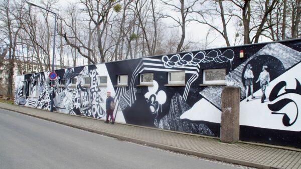 Auf Abwegen an der Tannenstraße. Foto: Philine