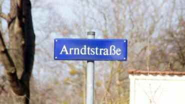Die Arndtstraße wurde 1872 so benannt. Foto: Philine