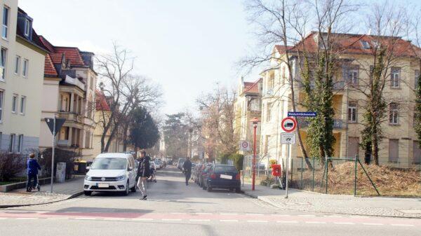 Blick in die Arndtstraße. Foto: Philine
