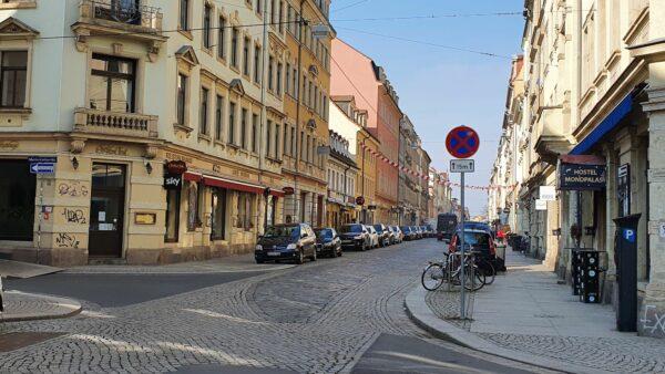 Neues Halteverbot an der Louisen-, Ecke Kamenzer Straße