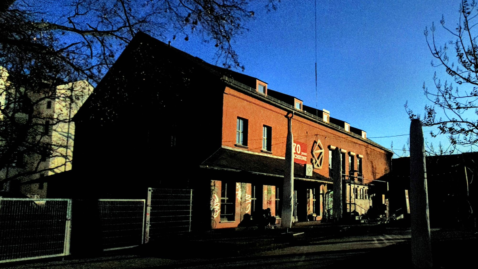 Soll umgebaut werden: Kulturzentrum Scheune