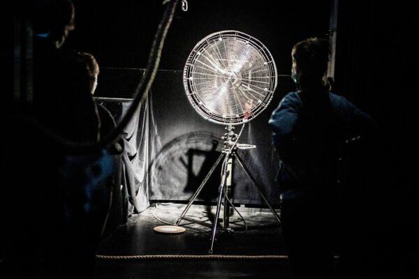 Monologe einer Windmaschine. Foto: André Wirsig