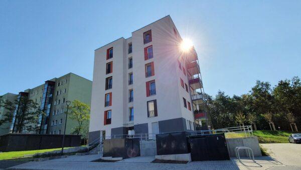 Vonovia-Neubau im Jägerpark-Viertel. Foto: Archiv Anton Launer