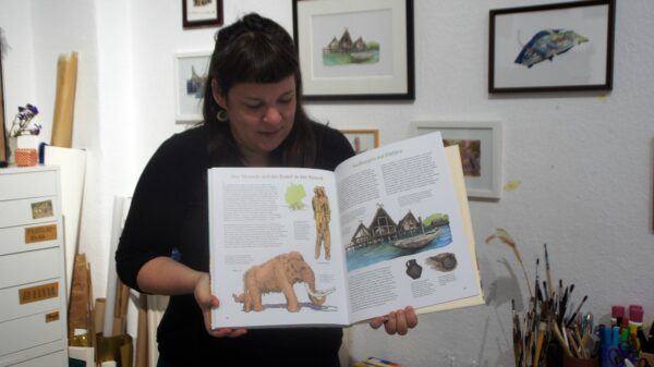 Ein Mammutprojekt im wahrsten Sinne des Bildes. Foto: Philine