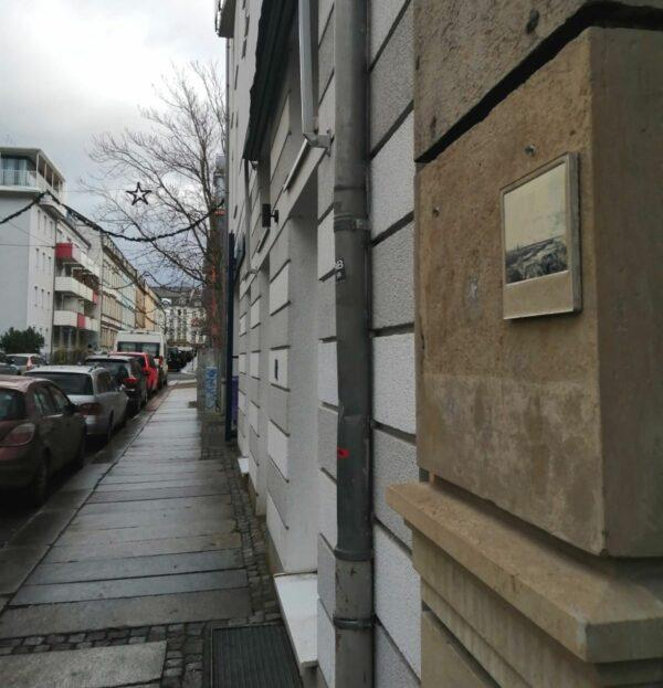 Die Jordanstraße hat ihren Namen übrigens nach einem Schokoladenfabrikanten.