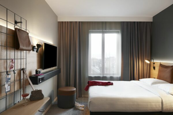Standard-Zimmer im Moxy-Hotel - Foto: Marriot-Gruppe