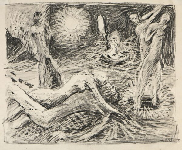 Zeichnung Siegried Winderlich
