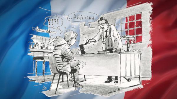 Express-Untersuchung - Zeichnung: Jean-Pierre Deruelles