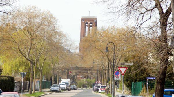 Blick in die Tannenstraße in Richtung St. Pauli Ruine. Foto: Philine
