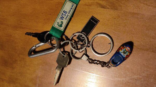 Gefundener Schlüsselbund