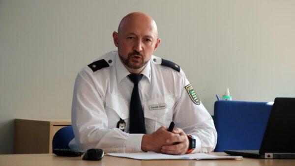 Chef der Verkehrspolizei: Gerald Baier