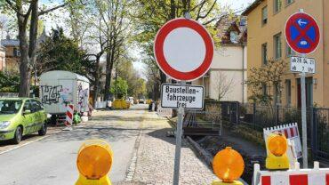 Die Jägerstraße ist aktuell gesperrt.