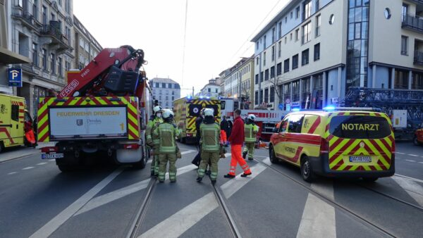 Tödlicher Unfall auf der Bautzner Straße