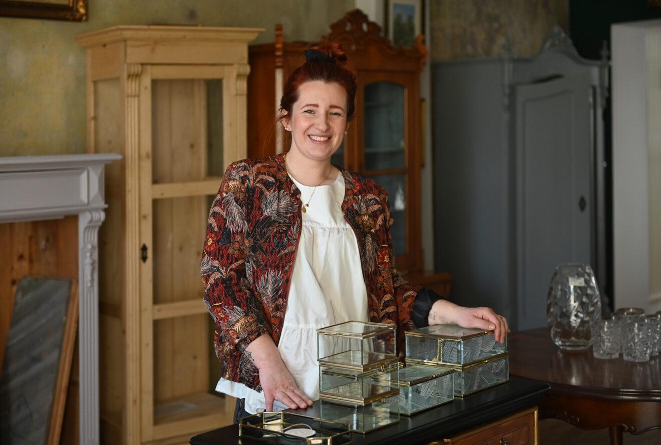 Glückliche Gründerin: Theresa Heßmann - Foto: Anja Schneider