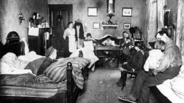 Arbeiterwohnung vor 100 Jahren