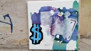 Die Dollar-Fliese von der Förstereistraße