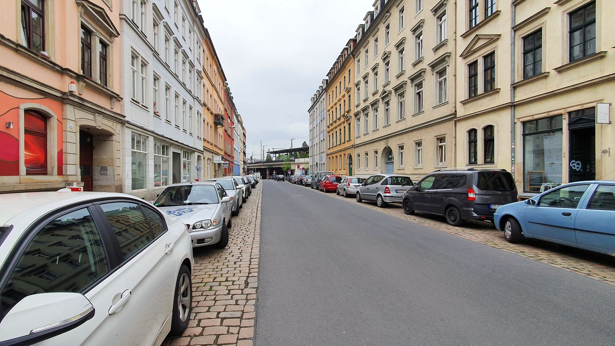 Ab Dienstag nur noch als Einbahnstraße nutzbar: die Hechtstraße