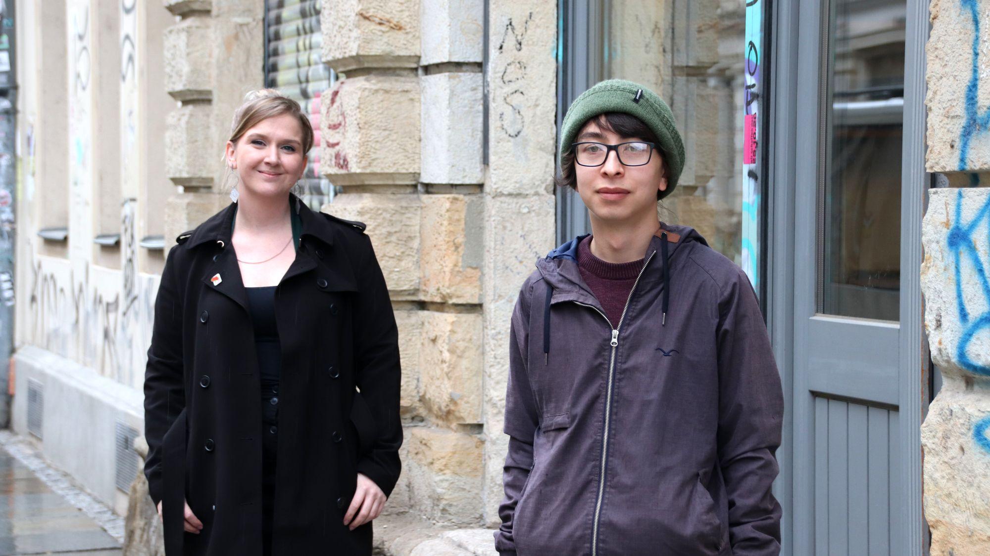 Neue SPD-Spitze: Julia Hartl und Paolo Le van