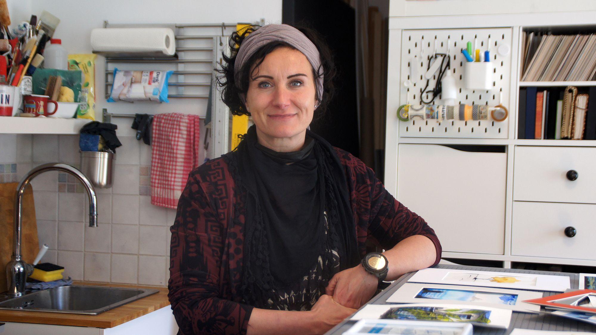 """Manja Seidel: """"Ich will alles ausprobieren. Das Leben ist kurz."""" Foto: Philine"""