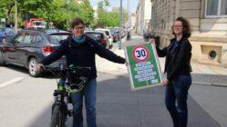 Grünen-Politikerinnen Ulrike Caspary und Susanne Krause.