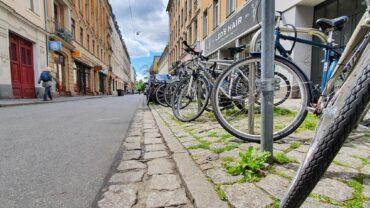 Hier auf der Alaunstraße hat sich der Unfall zugetragen.