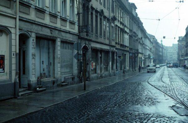 Dresdner Neustadt Anfang der 1990er Jahre - Foto: Archiv Lothar Lange