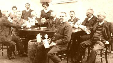 Stammtisch um 1900