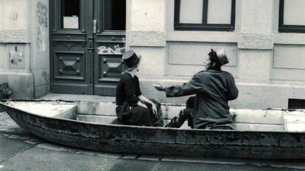 Straßentheater zur BRN 1998 - Foto: Stadtteilarchiv/Torsten Schumann