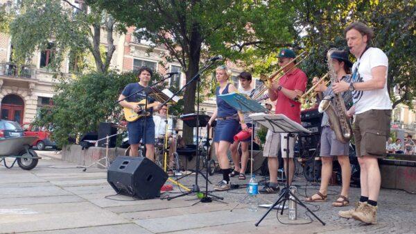 Live-Musik am Martin-Luther-Platz