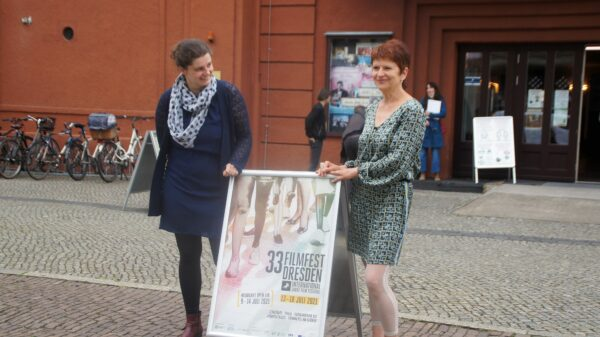 Anne Gaschütz und Sylke Gottlebe vom Filmfest. Foto: Philine