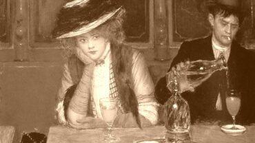 Die Absinthtrinker, 1908, Gemälde: Jean Béraud