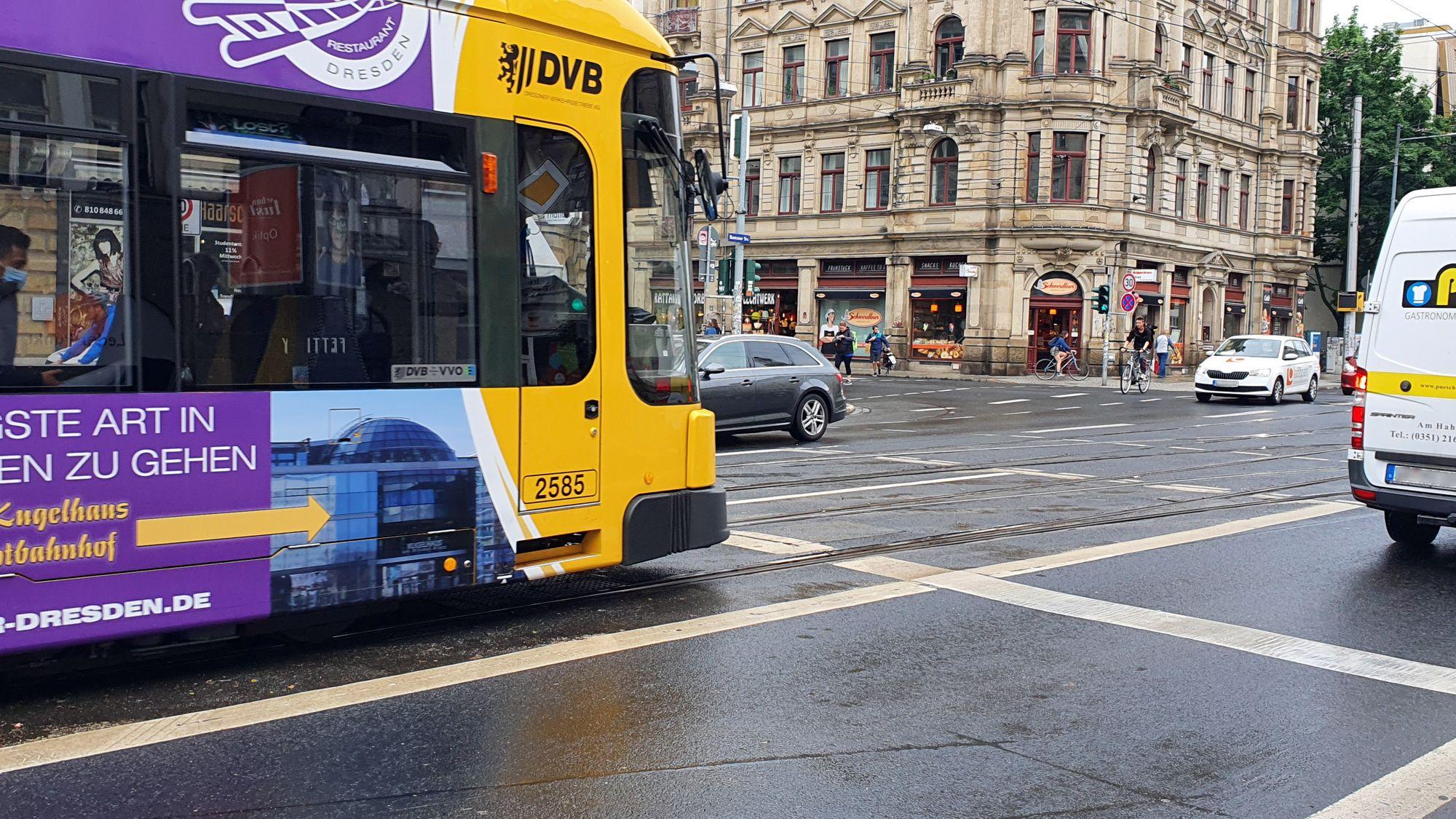Am Sonntag von 10 bis 16 Uhr Straßenbahnumleitungen.