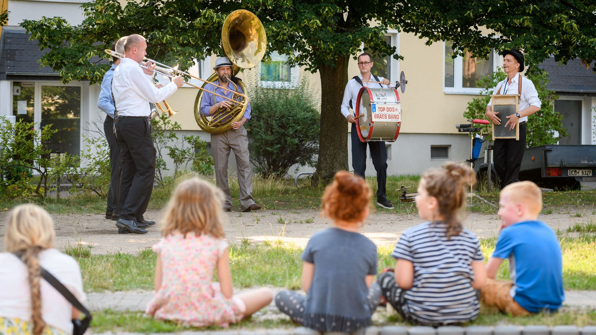 Musiker aus der Region begeistern Jung und Alt mit Hits und Evergreens bei den Sommerkonzerten - Foto: PR/Vonovia/Frank Grätz