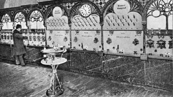 Stollwerck-Automatenrestaurant um 1900