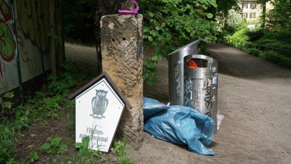 Flächennaturdenkmal auf dem Müll - Foto: Jonas Breitner