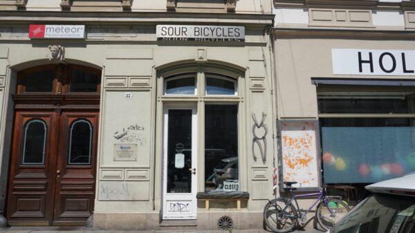 War davor ein Schlosserladen - Sour an der Königsbrücker Straße - Foto: Jonas Breitner