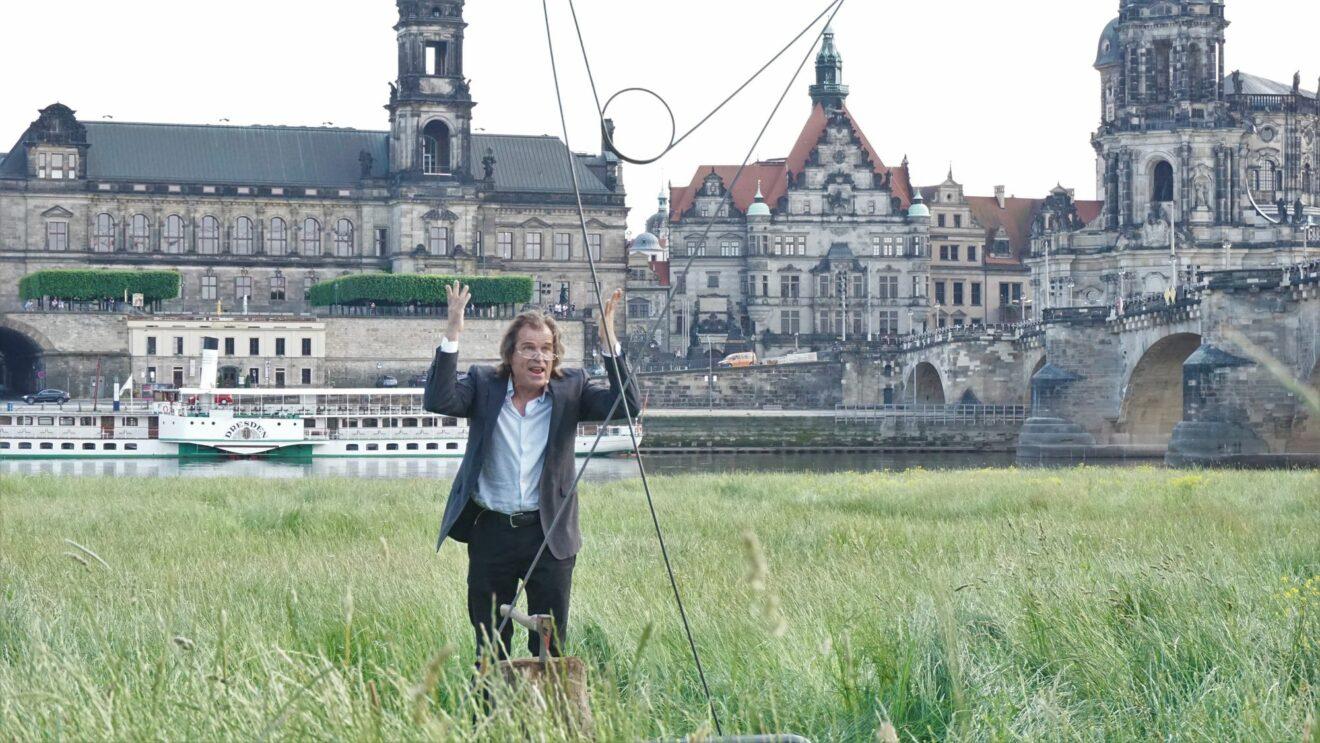 """Im Zwiegespräch HP Trauschke mit seinem """"Bruder"""" - Foto: Jonas Breitner"""