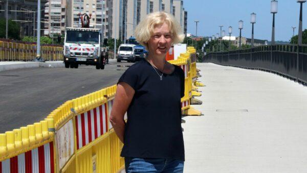 Leiterin des Straßen- und Tiefbauamtes Simone Prüfer