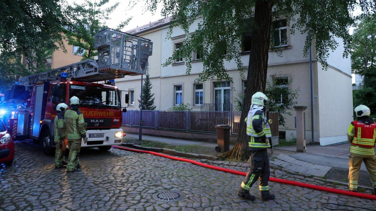 Die Feuerwehr hatte den Brand schnell im Griff. Foto: Roland Halkasch