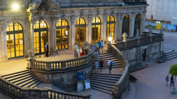 Museumsnacht im mathematisch-physikalischen Salon - Foto: Stadt Dresden 2019