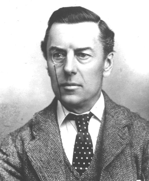 Berühmter Monokelträger - Joseph Chamberlain