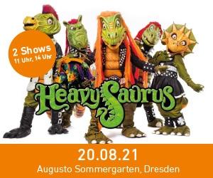 Heavy Saurus am 20. August im Augusto Sommergarten