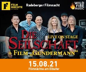 Die Seilschaft am 15. August bei den Filmnächten am Elbufer