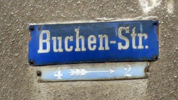 Buchenstraße im Hechtviertel