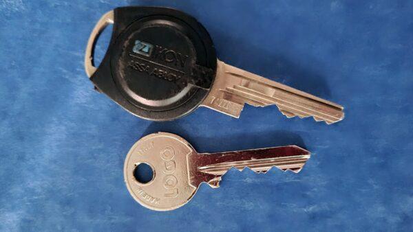 Gefundene Schlüssel