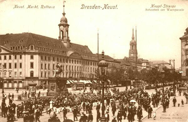 Rathaus Dresden-Neustadt