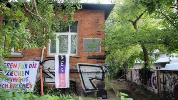 Steht wieder leer - Haus an der Lößnitzstraße