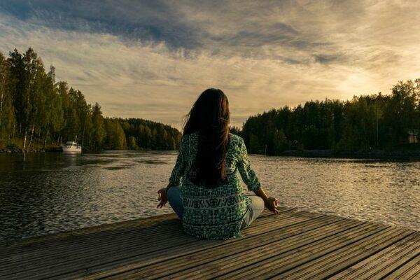 Mit Yoga Körper und Geist entspannen.