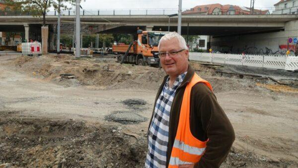 Torsten Jakob: Unter der Brücke war Millimeterarbeit gefragt. Foto: W. Schenk