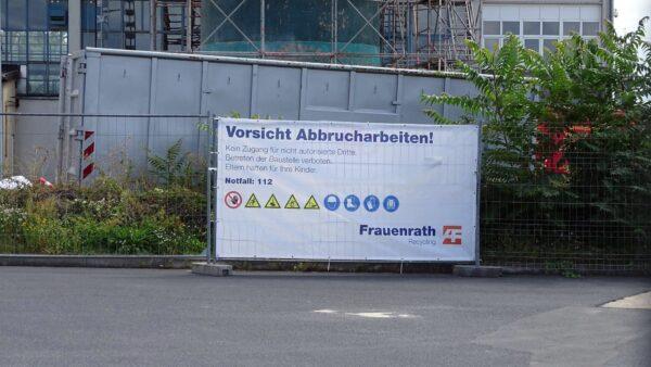 Der Standort des Schornsteins wird nicht neu bebaut. Foto: W. Schenk